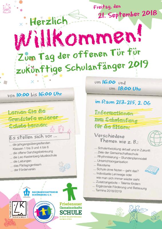 Home: Friedenauer Gemeinschaftsschule